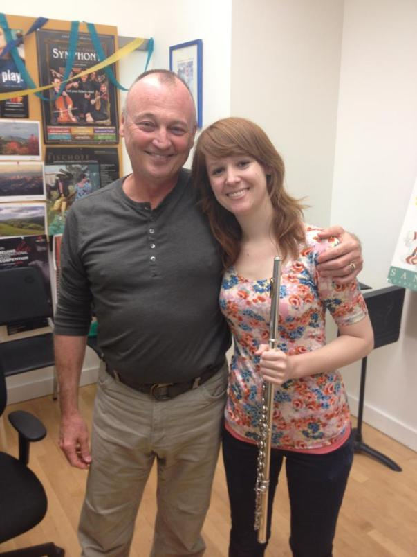with my former teacher Tim Day