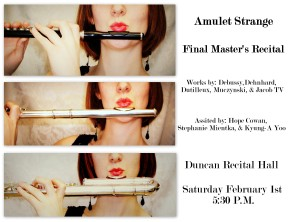 Feb. 2014 Recital Flyer