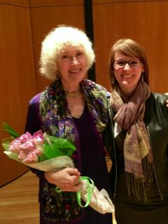 March 2016 Mid-South Flute Festival with my former teacher Leone Buyse