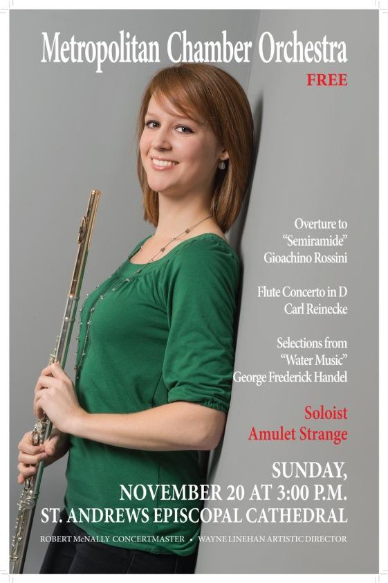 Nov. 2016 Reinecke Concerto in D Major flyer